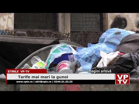 Tarife mai mari la gunoi