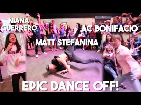 Youtube Fanfest Backstage Dance Party (Ft. Matt Stefanina, AC Bonifacio, Niana Guerrero)