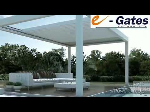 Aluminium Louvers For Flat Roof
