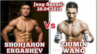 Shohjahon Ergashev vs Zhimin Wang Yangi jang (13-jang)
