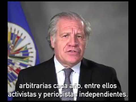 Secretario General de la OEA pide solidaridad con los presos políticos cubanos que pasarán la Navidad en la cárcel