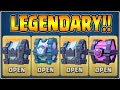 HUGE LEGENDARY KINGS CHEST OPENING IN CLASH ROYALE CLASH ROYALE CHEST OPENING