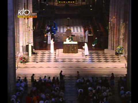 Messe du dimanche soir