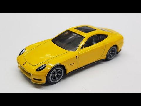 Ferrari 612 Scaglietti Speed Machines Hot Wheels Review
