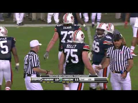 2011 BCS National Championship - #2 Oregon vs #1 Auburn
