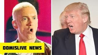"""Eminem Diss Trump on Big Sean No Favors 'I Decided' """"called Donald Trump """"A B*tch"""""""