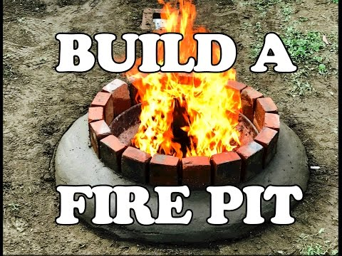 HOW TO: Build A Fire Pit Using A Charcoal Grill