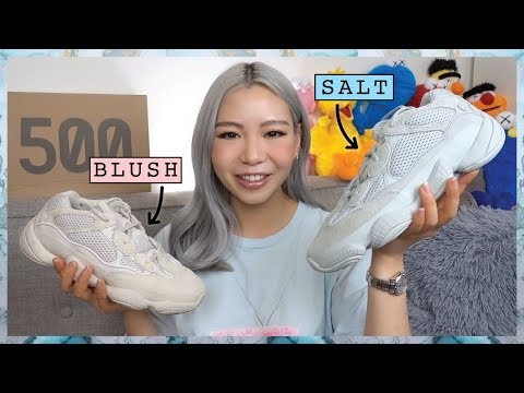 YEEZY 500 SALT VS BLUSH | Review + On Feet
