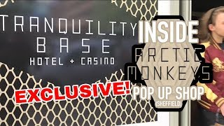 Inside Arctic Monkeys Pop Up Shop 🛍️: Tranquility Base Hotel+Casino // Sheffield Guide