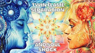 TWIN FLAME SEPERATION: Why It Hurts So Much (aka soul shock) 💔 Twin Flame Weekly #11 | Cheryl Muir