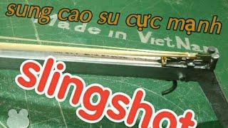 Guidance on making simple slingshot, rubber slingshot slingshot iron balls