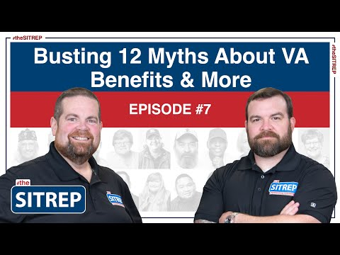 Myths about Veterans Benefits by #theSITREP