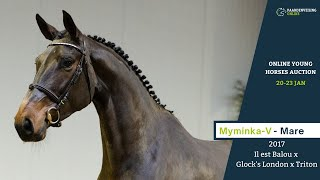 Myminka-V under the saddle
