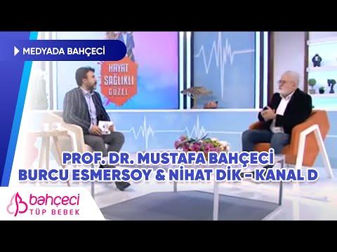Kanal D – Burcu Esmersoy & Nihat Dik – Prof. Dr. Mustafa Bahçeci
