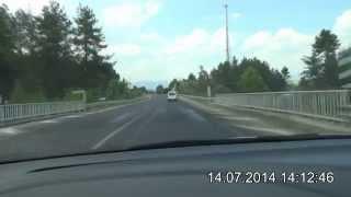 preview picture of video 'Bucak Kargı Tüneli - Karacaören 2 Barajı - Çobanpınar - Elsazı - Isparta Yolu D-685'