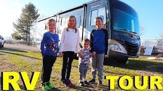 Tour Of Our NEW Motorhome!