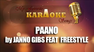 PAANO  by JANNO GIBS FEAT.  FREESTYLE