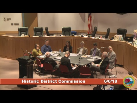 Historic District Commission 6.6.18