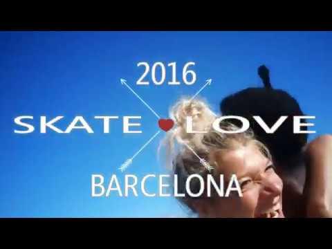 2 BCN ROLLER DANCE SKATE LOVE BARCEKONA 2016