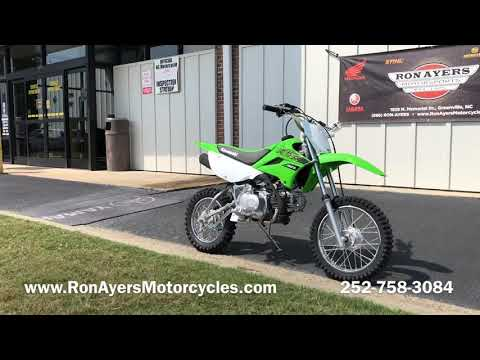2020 Kawasaki KLX 110L in Greenville, North Carolina - Video 1
