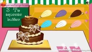 Game nấu ăn dạy làm bánh - Trò chơi cách làm bánh Gato