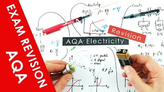 All of AQA Electricity Explained - A Level Physics Revision