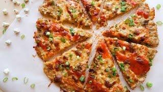 Buffalo Chicken Crust Pizza | Keto Recipe