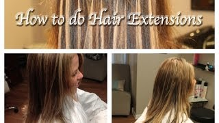How to do Hair Extensions, I-Tips, Stand-by-Strand, Micro Beads (Part 1)