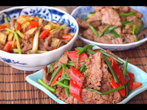 How to Stir Fry Beef – Three Basic Flavors and Recipes