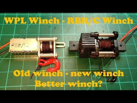 RBR/C Winch: Unboxing and assembling