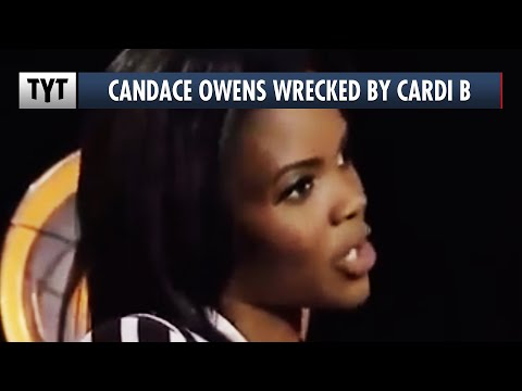 Candace Owens WRECKED by Cardi B