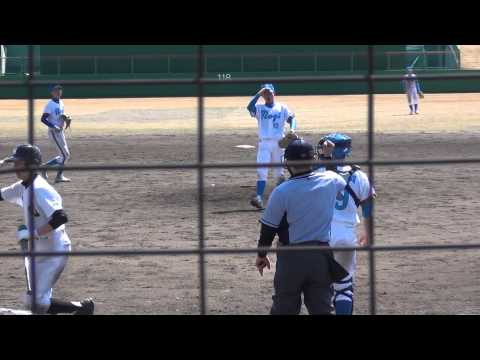 20140323 福浦勇斗(乃木ライオンズシニア) vs 本丸中学校(新潟県)