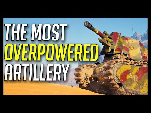 ► The Most OVERPOWERED Artillery! - World of Tanks leFH18B2 Gameplay
