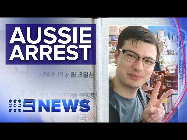 Australian student detained in North Korea | Nine News Australia