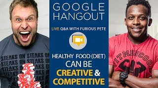 LIVE Chat with Furious Pete & FitMenCook - Overcoming Eating Disorders, Making food fun, Cheat Meals