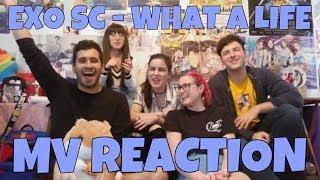 EXO SC (세훈&찬열)   What A Life MV Reaction [WE LOVE LATINOS!]