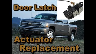 Door does not lock or unlock? On 2007-2013 Silverado, GMC, Sierra, Tahoe, Suburban, Denali