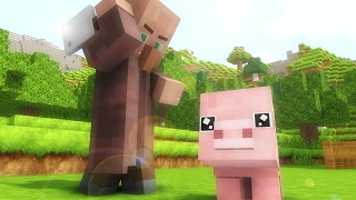 Village Life    Minecraft Animation