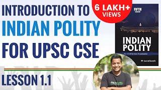 Indian Polity Lecture for UPSC Preparation (IAS Preparation) : 1.1 Introduction class by Roman Saini