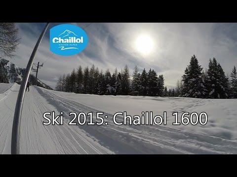 Sur les pistes de ski de Chaillol