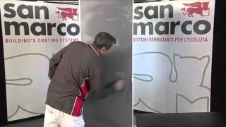 Покрытие с эффектом шелка San Marco Cadoro Argento 4л от компании DekorMia - видео