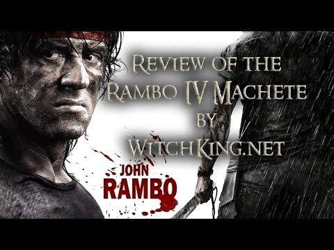 Gil Hibben Rambo IV 2008 Machete Knife Dagger/ Sylvester Stallone/John J. Rambo