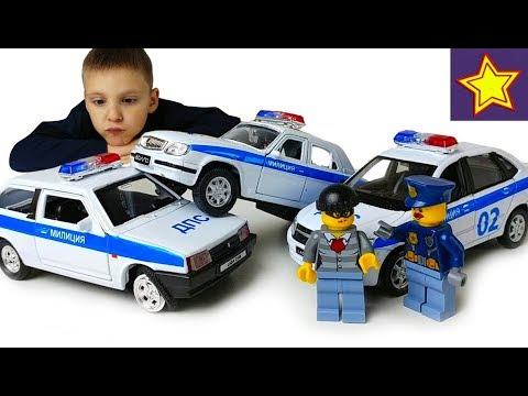 Полицейские машинки ДПС Перекраска такси Оборотни в погонах Police car toys