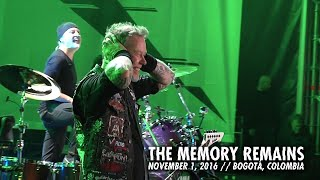 Metallica: The Memory Remains (Bogotá, Colombia - November 1, 2016)