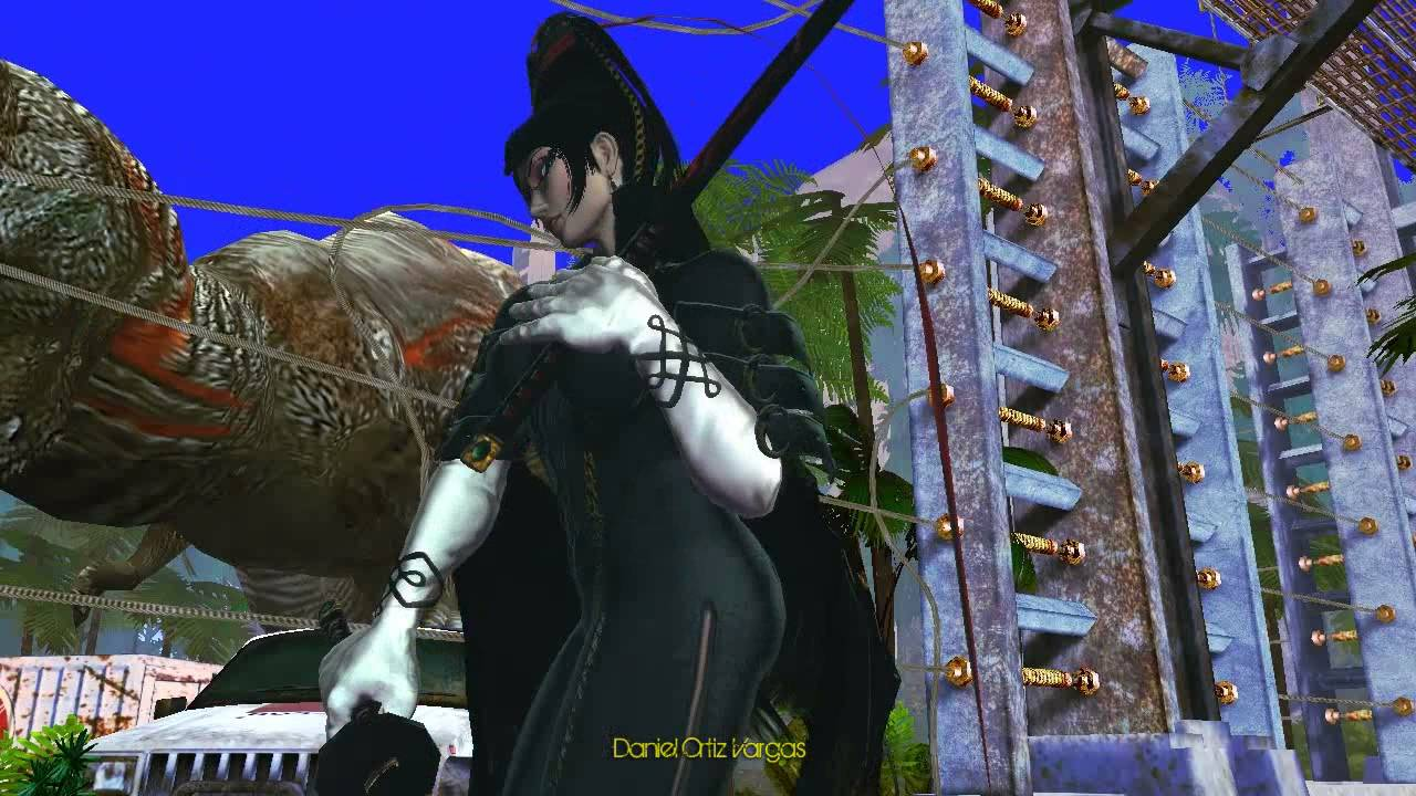 Playing As Bayonetta In Street Fighter