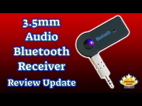 Item review - 3.5mm Audio Bluetooth Receiver (Update)