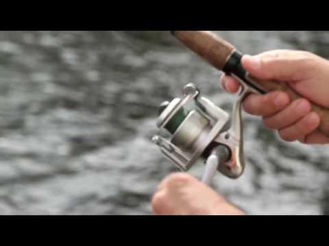 Equipo de pesca: Cómo pescar con caña de carrete giratorio