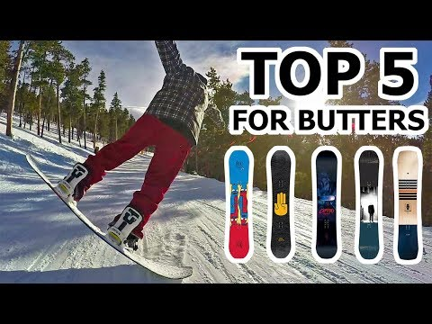 Top 5 Snowboards for Butter Tricks – 2018