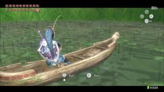 Catching the Hylian Loach in Twilight Princess HD
