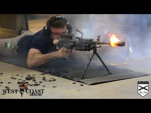 700 выстрелов из пулемета непрерывно